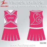 Healong ha sublimato le uniformi di Cheerleading della gioventù di stampa che Cheerleading il pullover