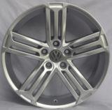 VW de aluminio de la reproducción rueda los bordes de la aleación para el coche