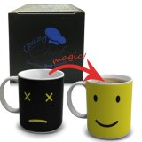 Tazza cambiante personalizzata di tè della tazza di caffè di colore di ceramica della tazza