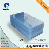 Super Clear Hoja brillante plástico de PVC para la impresión offset