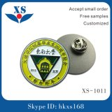 Divisa del Pin de metal de la alta calidad con el corchete de la mariposa para la ropa