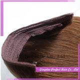 Extensões do cabelo humano do halo da aleta