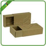 クラフト紙ボックスを折るフラットパック