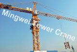 Max. Eingabe des Mingwei konkurrierende Qualitätsaufbau-Turmkran-Tc5516: Eingabe 8t/Tipp: 1.6t
