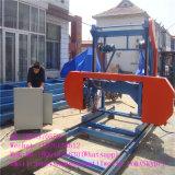De verkopende Houten Scherpe Horizontale Machine van de Zaag van de Zaagmolen van de Band Draagbare