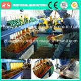 riga grezza strumentazione della raffineria dell'olio di palma 10t-100t in Tailandia, Indonesia