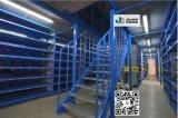 Racking de aço do mezanino do armazenamento do armazém da qualidade superior