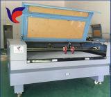 Máquina de grabado de madera del corte del laser del CNC del cuero