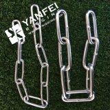 Catena a maglia lunga dell'acciaio inossidabile con DIN763