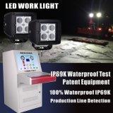 圧力同等になる出口(一休み)のパテントデザインたくわえIP69kのLED作業ライトはBatanceを防水し、乾燥する