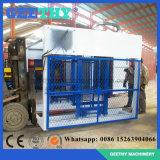 Máquina do tijolo que faz a máquina de fatura de tijolo de bloqueio do Paver Qt10-15