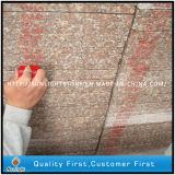 Escada interna Polished da etapa da pedra vermelha barata do granito do pêssego G687