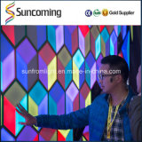 Disco Espacio Panel 3D Honeycomb Night Club El panel de pared LED