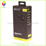 Paper promozionale Packaging Black Rigid Box con Plastic Handle