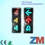 300mm LED rouge et jaune entièrement configuré avec trois aspects pleine circulation tête avec Digital Compte à rebours