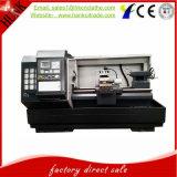 Цена по прейскуранту завода-изготовителя Lathe CNC плоской кровати регулятора Ck6136 Fanuc горизонтальная
