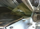 Отработанный вентилятор безредукторной передачи