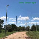 3 ans de garantie de réverbère solaire diplômée par ce 10W-120W