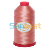 Linha Sewing de nylon da tenacidade elevada no branco e na cor crus