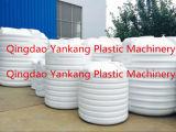Tanque de água plástico que faz a máquina com 3 camadas