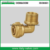 Ce Certified Brass Forged Female Compression Elbow (AV7010)