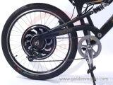 Doppeltreiber-magische Torte 3! 48V 3000W Electric Bike! Das Fastest Electric Bicycle in The World! Goldenes Fahrrad der Bewegungsmarken-E!
