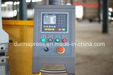 Dobrador do freio hidráulico de Wc67y-250t/6000mm, freio da imprensa do metal de folha com alta qualidade, preço do freio da imprensa