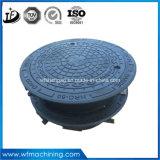 Tampas de câmara de visita Ductile do ferro da fundição chinesa para a água da chuva