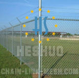 3mm pvc Coated Chain Link Fence