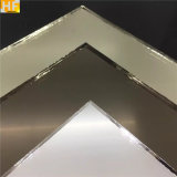 Do espelho decorativo da parede da espessura do espelho 1.5mm 1.8mm 2mm da cor espelho grande da prata da folha do espelho de Frameless