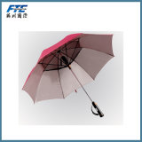 Double Layers Windproof Fan Golf Umbrella