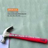 Тип молоток с раздвоенным хвостом деревянной головки черноты ручки H-03 американский