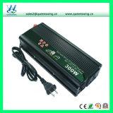 C.C de 300W 12V à l'inverseur d'énergie solaire à C.A. 110V/220V avec le chargeur