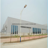 Portal del marco de estructura de acero ligero taller mecánico con alta calidad