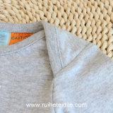 Romper puro respirável bonito do algodão de Babyboy elevado novo