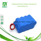 18650 pacchetti 14.8V 6600mAh per gli apparecchi medici, indicatore luminoso della batteria di litio del faro