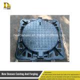 正方形フレームが付いている鋳鉄850X850 D400のマンホールカバー