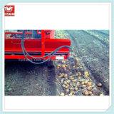petite moissonneuse de pomme de terre 4uql-1320 automatique avec la grande sortie