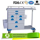 Krankenhaus ABS medizinische Anethsia Laufkatze mit Rädern (CE/FDA/ISO)