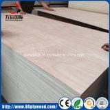 El doble enarenó la madera contrachapada comercial 18m m del grado de los muebles de Bb/Bb Okoume