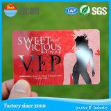 Cartões plásticos pretos do Inkjet do PVC da listra magnética