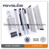 145 mm Altura de cierre suave tándem caja del cajón de diapositivas