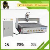 목제 층계 목제 문 조각품 조각 CNC 대패 기계 (QL-1530)