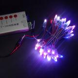 Indicatore luminoso di natale solare della stringa della decorazione esterna impermeabile LED di natale di alta qualità