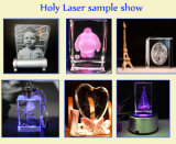 Pequeño laser Engraver Machine 3D Glass Etching Machine de Business Idea Machine 3D Crystal