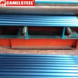 Manufatura Prepainted ondulada da chapa de aço