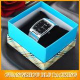 Boîte-cadeau de carton de montre-bracelet avec le couvercle