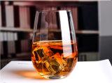 Glace en cristal de whiskey de qualité pour le grossiste