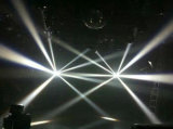 Estágio que ilumina luzes baratas do disco