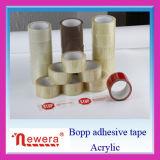 Het Enige Opgeruimde Acryl Zelfklevende Transparante Plakband BOPP van de lage Prijs